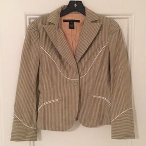 Marc Jacobs Stripped Blazer Size 6